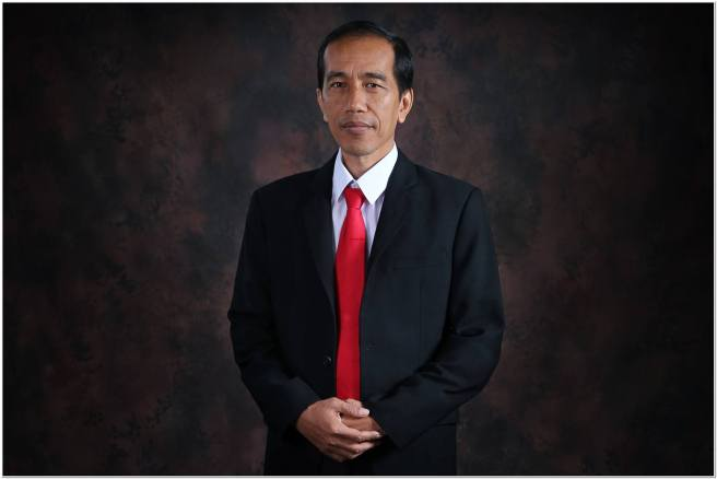 President Joko Widodo promises hope and changes for Indonesia