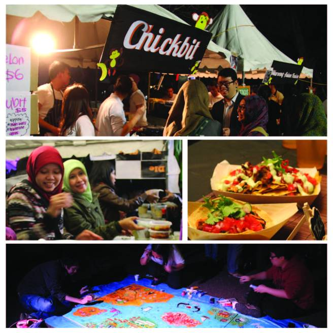 Imagery from the Indonesian Night Markets. Photographed and edited by Freya Orford-Dunne, 2015.