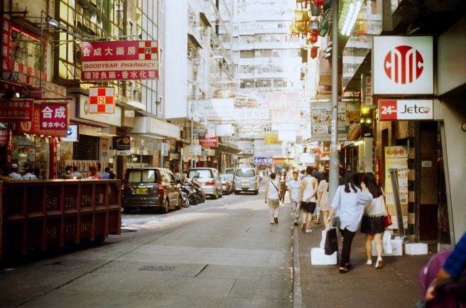 Hong Kong is a densely populated city with over 7 million inhabitants.