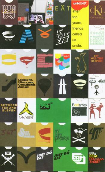 Image 2: examples of 347 designs, cut 'n' paste culture