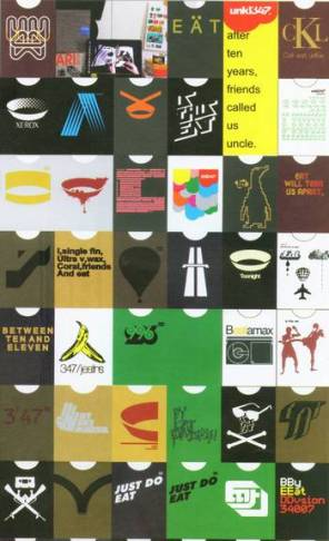 Indonesian design label Unkl347 amalgamates well known logos (Luvaas, 2008)