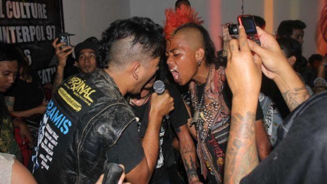 Karli Kk Munn 2014, A small part of the massive Indonesian punk scene