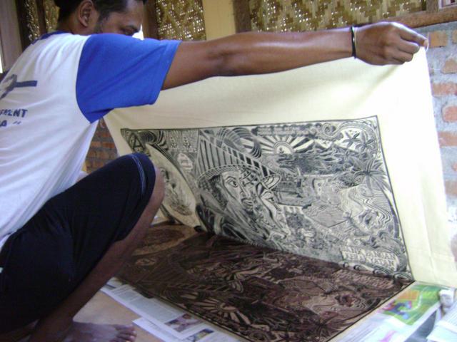 the Taring Padi printing process, 2011 - http://deepdishwavesofchange.org/node/2365
