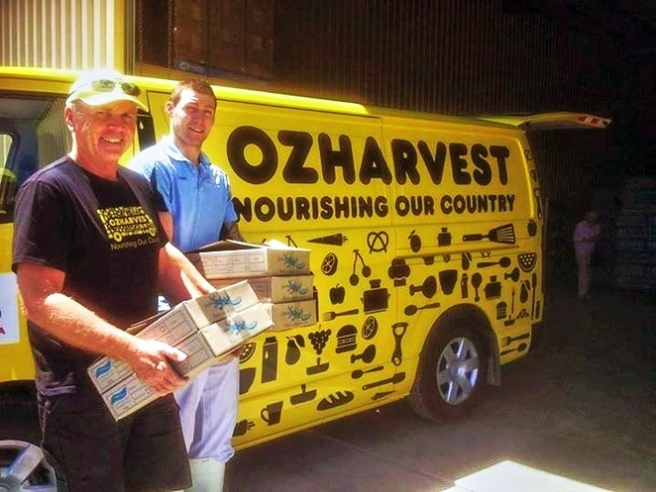 OzHarvest Tree Of Goodness, Weekend notes 2014