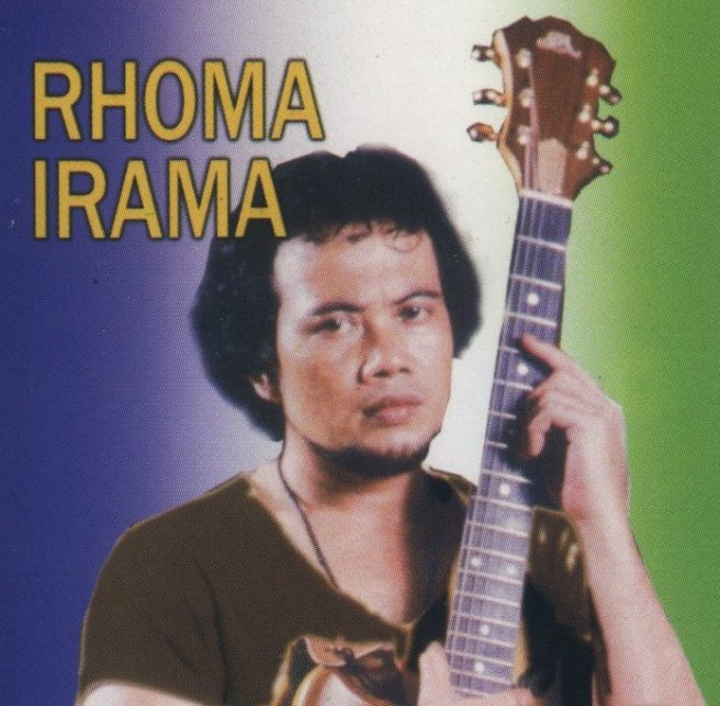 A young Rhoma Irama changed the outlook for Dangdut during 1970s