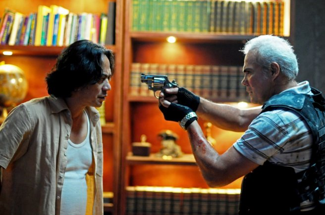 One of many action scenes in The Raid