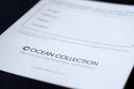 OCEAN COLLECTION PACKAGING
