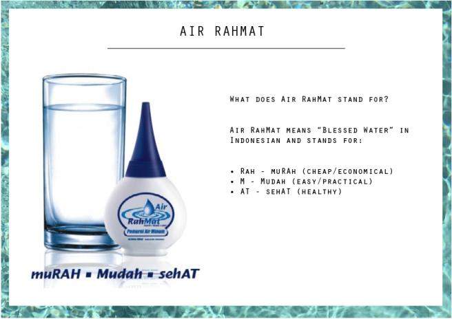 What is air rahmat