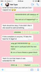 Had to use screen shots of WhatsApp to trace over so that the design was accurate. Started out using iPhone format. (Tjeng, F. 2018.)