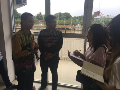 The first round of interviews were conducted with the Banjarmasin youth to understand why they do not smoke. (Group Durian. 2018.)