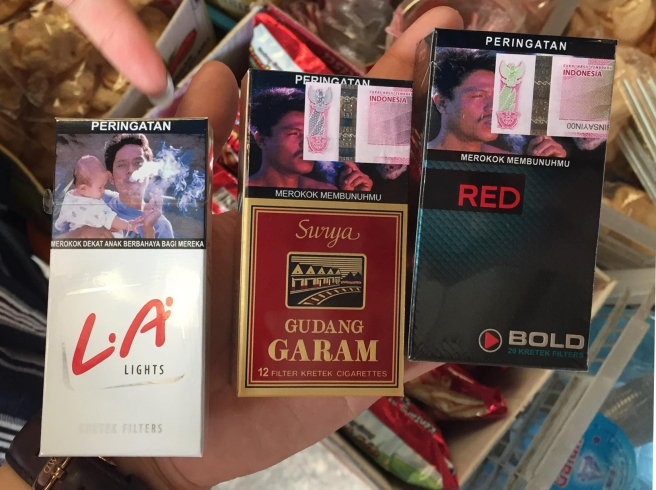 indonesian cigarette packaging