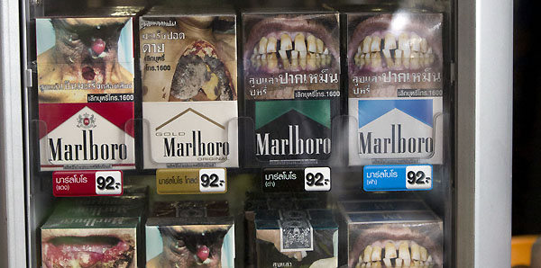 Thailand Cigarette Warnings