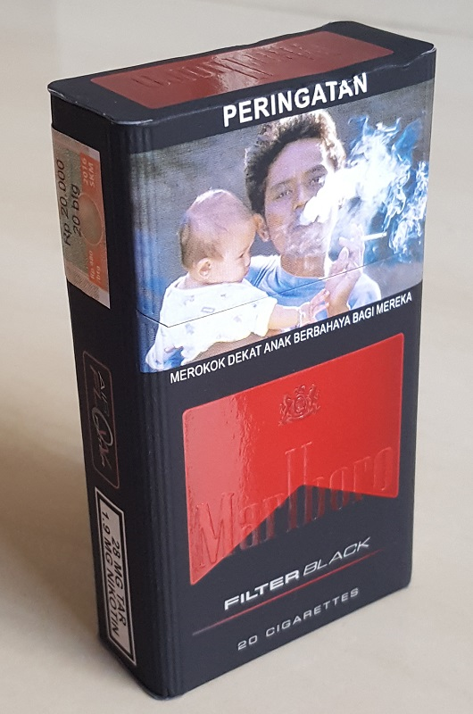 Marlboro Filter Black indonesia Cigarettes front image