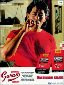 Figure 1: Gudang Garam 1995 cigarette advertisement